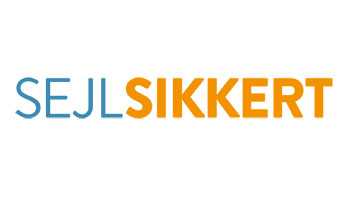SejlSikkert-logo som klistermærke