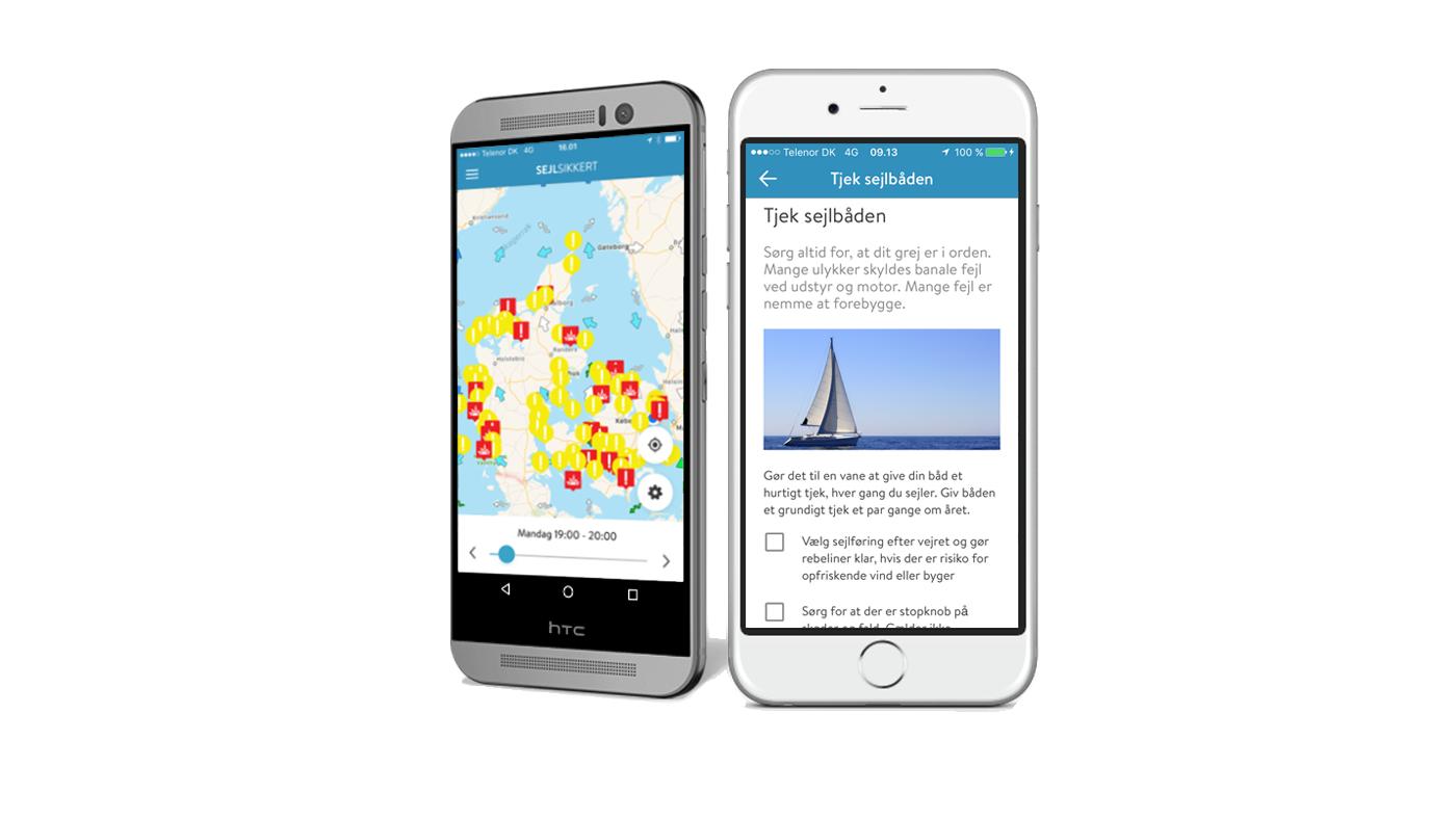 SejlSikkert App skal forhindre alvorlige hændelser og drukneulykker