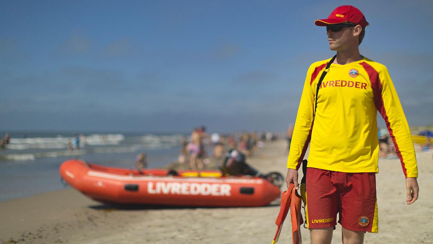 12 personer reddet i 9 livreddende aktioner på stranden i uge 30.