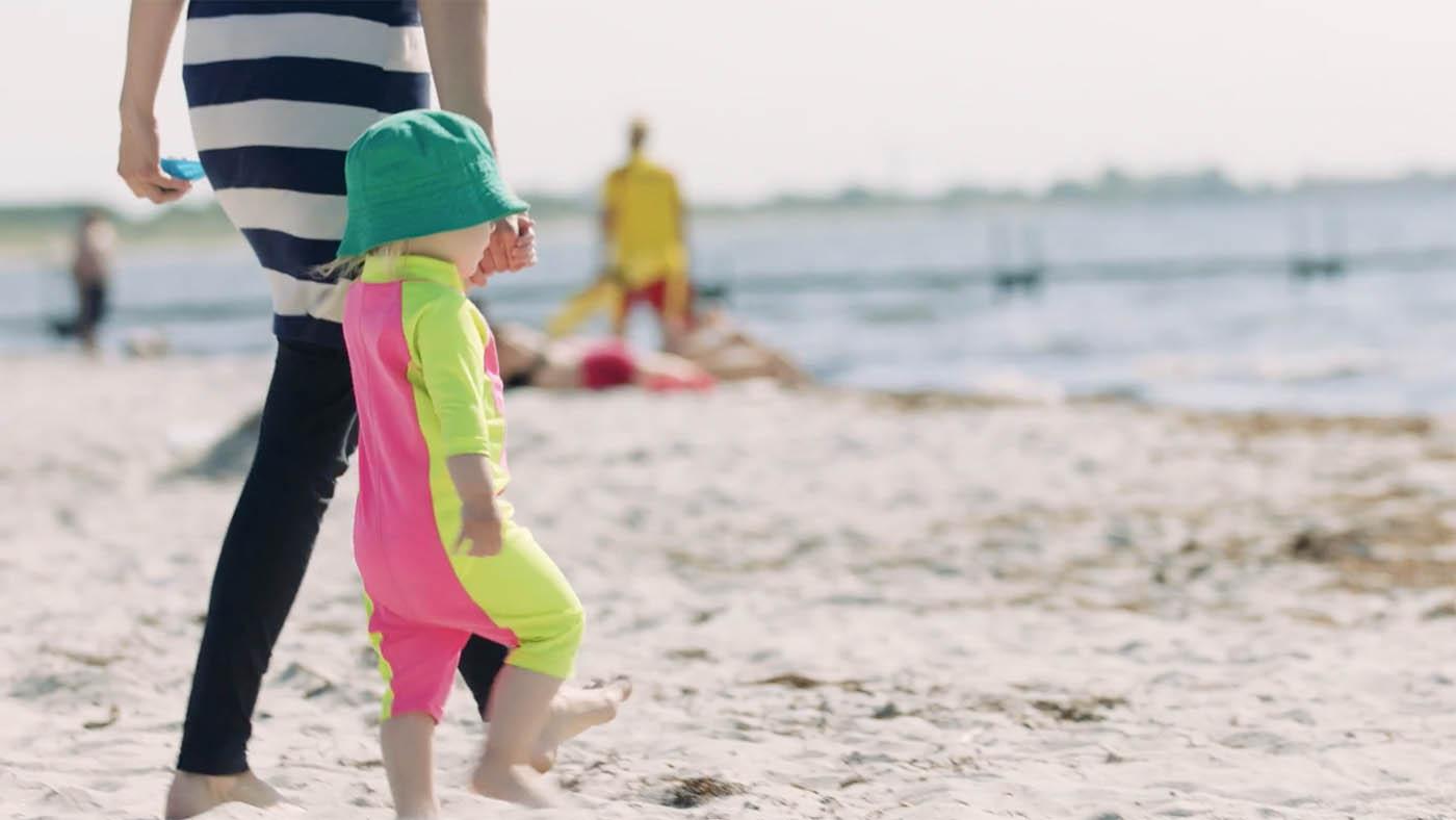 Livredderne med opfordring efter en uge med flere alvorlige redningsaktioner med børn involveret: Pas på børnene i vandet
